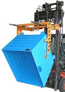 Volquete Contenedor Apilable de 550 l. (1000 kg) para carretilla. (BST-U55).