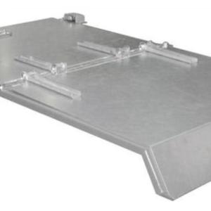 Tapa galvanizada Para Contenedor TIPO BKB Con apertura inferior de. (BKB500T).