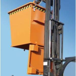 CONTENEDOR TIPO BKB Con apertura inferior de 500 l. (1000 kg) para carretilla.(BKB500).