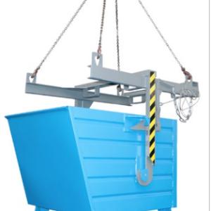 Volquete contenedor apilable de 2000 l. (2000 kg) para carretilla. (BKT200).